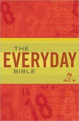 Everyday Bible: New Century Version (NCV)