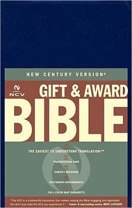 NCV Gift and Award Bible, Blue