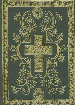 The Illuminations Cross Bible: New Century Version (NCV), Green Hardcover