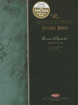 The MacArthur Study Bible: New King James Version (NKJV)