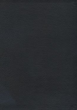 The MacArthur Study Bible: New King James Version (NKJV), Black Bonded Leather, Thumb-Indexed
