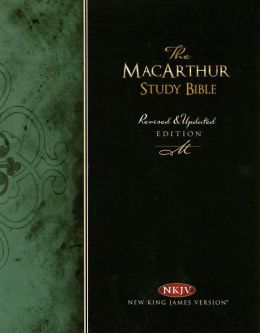 The MacArthur Study Bible: New King James Version (NKJV), Black Genuine Leather, Thumb-Indexed