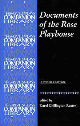 Documents of the Rose Playhouse
