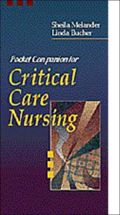 Pocket Companion for Critical Care Nursing