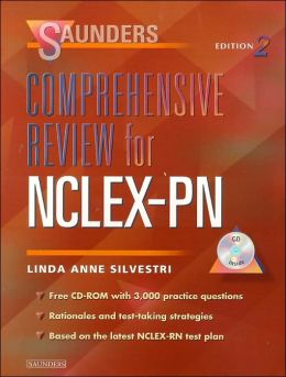 Saunders Comprehensive Review for NCLEX-PN with CD-ROM