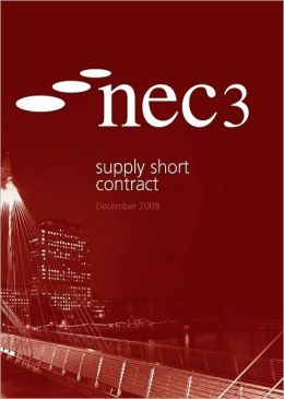 NEC3 Supply Short Contract