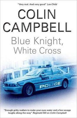 Blue Knight, White Cross