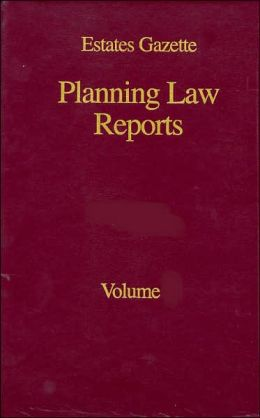 Planning Law Reports 1991