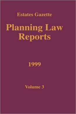 Planning Law Reports 1999 V3