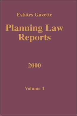 Planning Law Reports 2000 V4
