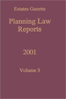 Planning Law Reports 2001 V3