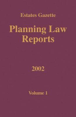 PLR 2002: Vol 1