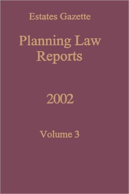 Planning Law Reports 2002 V3
