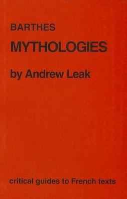 Barthes: Mythologies