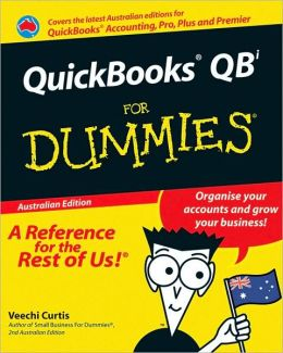 QuickBooks QB For Dummies, Australian Edition