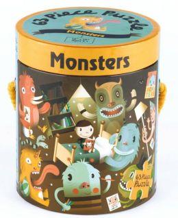 Monsters 63 Piece Puzzle