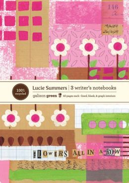 Lucie Summers Eco Writer's Notebook