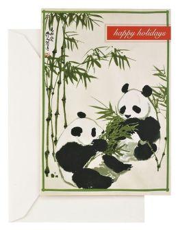 Holiday Pandas Christmas Boxed Card