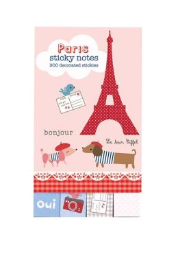 Paris Mini Sticky Notes