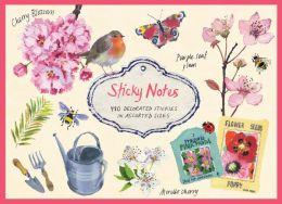 Cherry Blossom Garden Sticky Notes