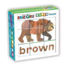 Eric Carle Brown Bear, Brown Bear, What Do You See? Block Puzzle