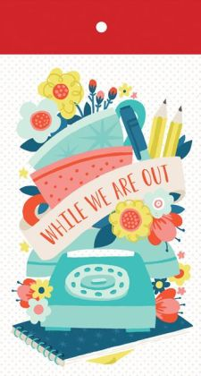 While We Are Out List Pad