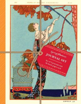 The Art & Fashion of George Barbier Petite Journal Set