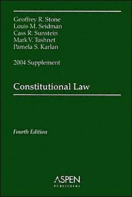 Constitutional Law, 2004 Supplement