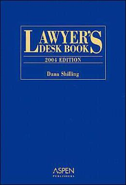 Lawyer's Desk Book, 2004