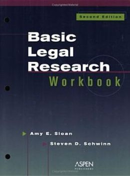 Basic Legal Research Workbook, Second Edition
