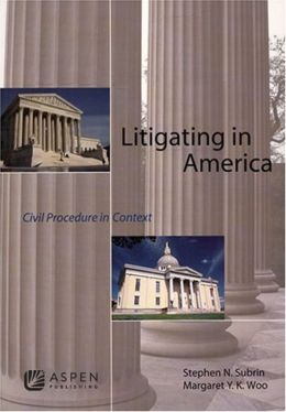 Litigating In America