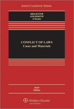 Conflicts Of Law: Cases and Materials