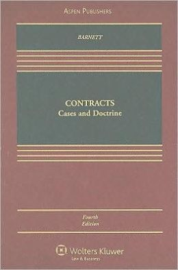 Contracts: Cases and Doctrine, Fourth Edition