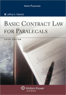 Basic Contract Law for Paralegals, Fifth Edition
