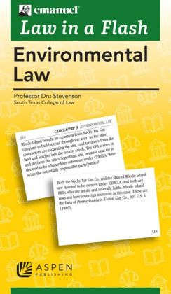 Law in a Flash: Environmental Law