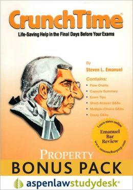 CrunchTime: Property (Print + eBook Bonus Pack)