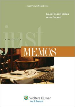 Just Memos, Third Edition