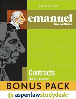 Emanuel Law Outlines: Contracts Bonus Pack