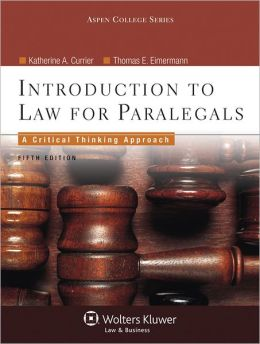 Introduction To Law for Paralegals, Fifth Edition