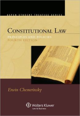 CONSTITUTIONAL LAW:PRIN.+POLICIES