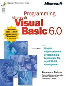 Programming Microsoft Visual Basic 6.0