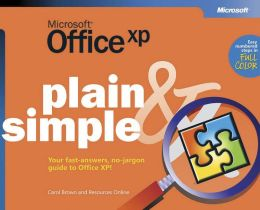 Microsoft Office XP Plain and Simple