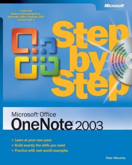 Microsoft Office OneNote 2003 Step by Step (BPG-Step by Step Series)