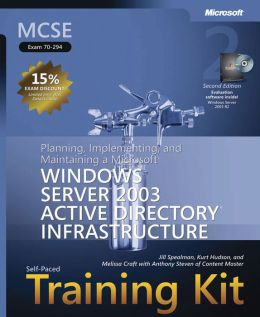 MCSE Self-Paced Training Kit (Exam 70-294) Panning, Implementing, and Maintaining a Microsoft Windows Server 2003 Active Directory Infrastructure