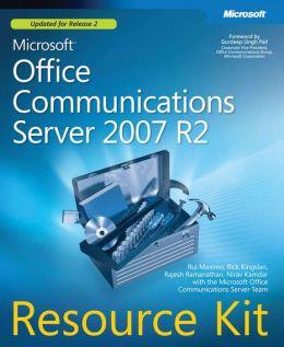 Microsoft Office Communications Server 2007 R2