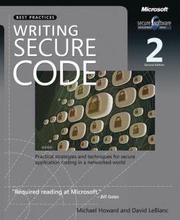 Writing Secure Code