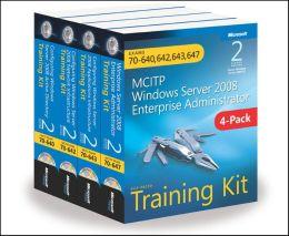 MCITP Windows Server 2008 Enterprise Administrator: Training Kit 4-Pack (2nd Edition): Exams 70-640, 70-642, 70-643, 70-647