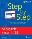 Book Cover Image. Title: Microsoft Excel 2013 Step by Step, Author: Curtis D. Frye