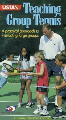 USTA's Teaching Group Tennis NTSC Video