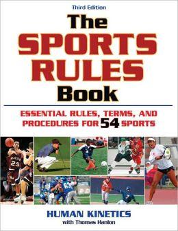 The Sports Rules Book, 3E